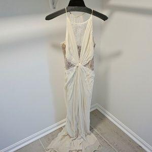 BCBG Formal Evening Gown / Maxi Dress (100% silk)